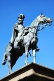 Godfrey Charles Morgan, 1ra estatua de vizconde Tredgar Imagenes de archivo