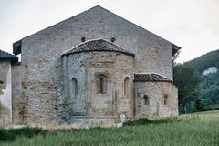 Godiasco Павия: Церковь Сан Zaccaria стоковая фотография