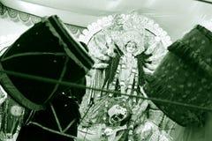 Godin Durga Royalty-vrije Stock Afbeeldingen