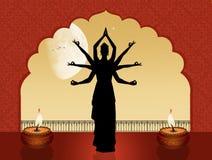 Godin Indische dans royalty-vrije illustratie