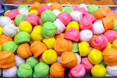 godis färgade östliga fruktsötsaker tre Arkivfoton