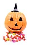 godis halloween Arkivfoton