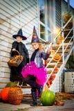 Godis på halloween Fotografering för Bildbyråer