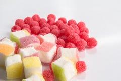 Godisar för fruktgelé Royaltyfri Fotografi