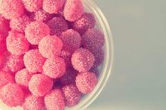 Godisar för fruktgelé - tappningfärg Royaltyfri Fotografi