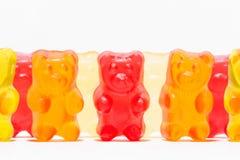 Godisar som formas som en nallebjörn Royaltyfri Foto
