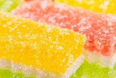 godisfrukt skivar white Royaltyfria Foton