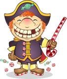 godiskaptenen piratkopierar Royaltyfri Fotografi