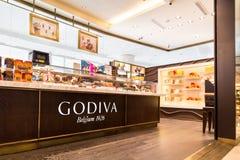 Godiva chocolate outlet in KLCC Kuala Lumpur Royalty Free Stock Photo