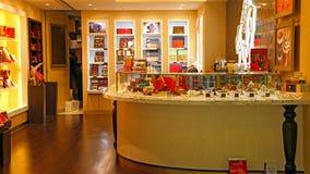 Godiva chocolate shop stock images