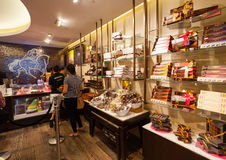 Godiva Chocolate Store Fifth Avenue in Manhattan Lizenzfreie Stockfotos
