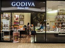 Godiva shop Royalty Free Stock Photography