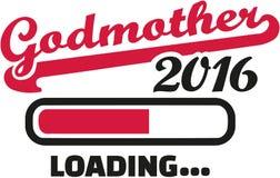 Godmother 2016 loading bar. Vector royalty free illustration