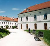 The Grassalkovich Castle in Godollo, Hungary. Royalty Free Stock Photography