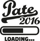 Godparents 2016 loading. Bar vector stock illustration