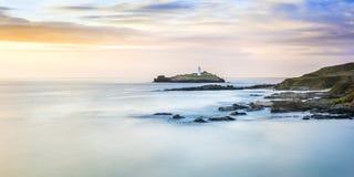 Godrevy Cornwall Royaltyfri Fotografi