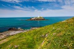 Godrevy Cornwall England UK Stock Image