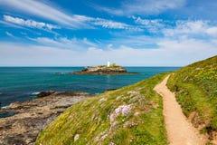 Godrevy Cornwall England UK Stock Images