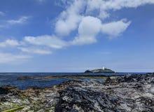Godrevy Head lighthouse Stock Image