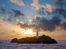 Godrevy Island Lighthouse Royalty Free Stock Image