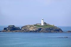 Godrevy latarnia morska, Cornwall Obrazy Royalty Free
