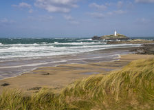 Godrevy Lighthouse Royalty Free Stock Photos