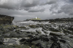 Godrevy lighthouse Stock Photos