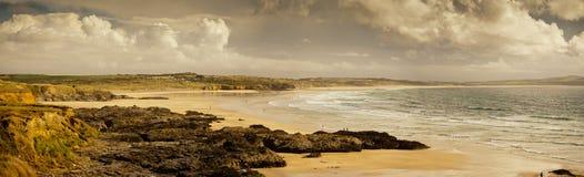 Godrevy plaża zdjęcie stock