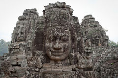 Gods of Angkor Thom Stock Photography