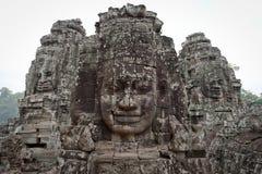 Gods of Angkor Thom Stock Photography