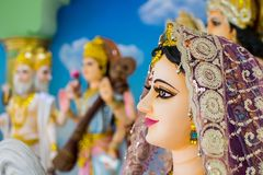 Gods of Hinduism Is worshiped by the Indians. And people around the world Stock Images