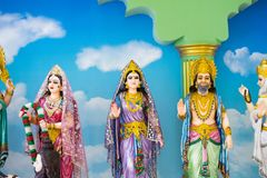 Gods of Hinduism Is worshiped by the Indians. And people around the world Stock Photography