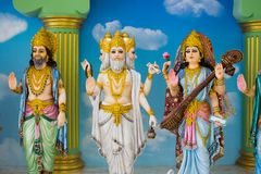 Gods of Hinduism Is worshiped by the Indians. And people around the world Royalty Free Stock Photo