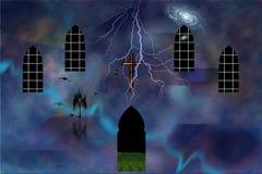 Godsdienst royalty-vrije illustratie