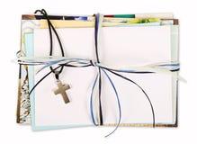Godsdienst, doopsel, kerkgemeenschap, bevestiging Royalty-vrije Stock Foto