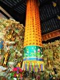 Godsdienst, kleuren, kunst en ritueel in China royalty-vrije stock fotografie