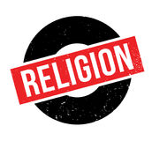 Godsdienst rubberzegel stock illustratie