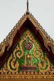 Godsdienstantiquiteit in het ontwerp van Thailand Stock Afbeelding