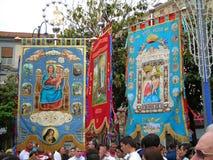 godsdienstig feest in Zuid-Italië Royalty-vrije Stock Foto's