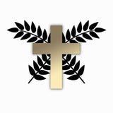 Godsdienstig Kruis vector illustratie