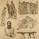 Godsdienstig nr 6 - Vectorpak, handtekeningen royalty-vrije illustratie
