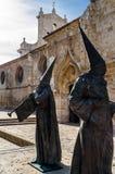 Godsdienstig standbeeld in Palencia, Spanje Stock Fotografie