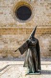 Godsdienstig standbeeld in Palencia, Spanje Stock Foto
