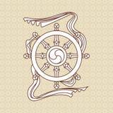 Godsdienstig symbool stock illustratie