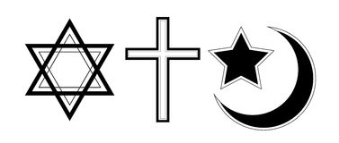 Godsdienstig symbool Stock Afbeeldingen