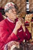 Godsdienstig toon in Bali stock foto