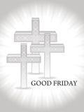 Godsdienstige achtergrond voor goede vrijdag. Royalty-vrije Stock Foto's
