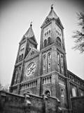 Godsdienstige beelden van rond Atchison Kansas Stock Foto's