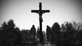 Godsdienstige beelden van rond Atchison Kansas Stock Fotografie