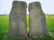 Godsdienstige beeldhouwwerken Stock Foto